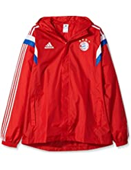adidas Regenjacke FC Bayern Rain Jacket - Chándal para hombre, color rojo, talla 2XL