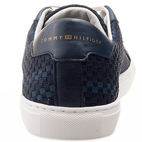Tommy Hilfiger Laced Hommes Trainers Navy