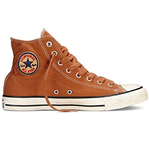 Converse Chuck Taylor All Star Homme Vintage Washed Back Zip Twill Hi 381790 Unisex - Erwachsene Sneaker Rust