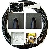 25m BT Verlängerung Outdoor/externes Kabel/Blei-Kit–Telefon Line Breitband