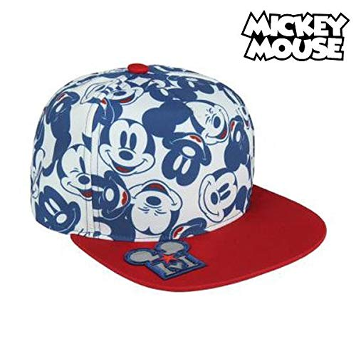 Cerdá Plana Mickey Mouse Gorra de Tenis, Niños, Azul, 52-58 cm