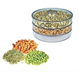 R N Creation Surat - Sprout Maker | Plastic Sprout Maker Box | 3 Container | Organic Home Making Fresh Sprouts Beans for Living Healthy Life