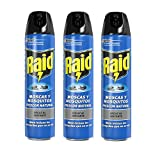 Raid Moscas y Mosquitos - Spray Insecticida, Frescor Natural, 600 ml - Pack...