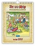 Wochenkalender 'Der Hundertjährige' 2020: 19 x 25 cm