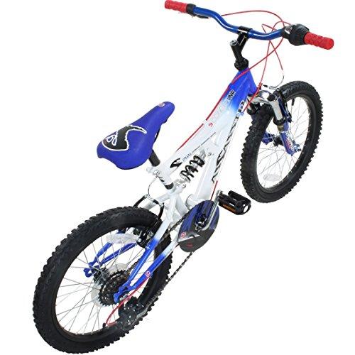 18 oder 20 Zoll Kinder Mountainbike Concept Assassin Fully 2 Größen 4 Farben vollgefedert -