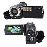 PowerLead Mini DV C8 16MP Haute Définition Caméscope Vidéo Numérique DVR 2.7 '' TFT LCD 16x Zoom Hd Enregistreur Vidéo Caméra 1280 x 720p Caméscope Numérique (Noir)