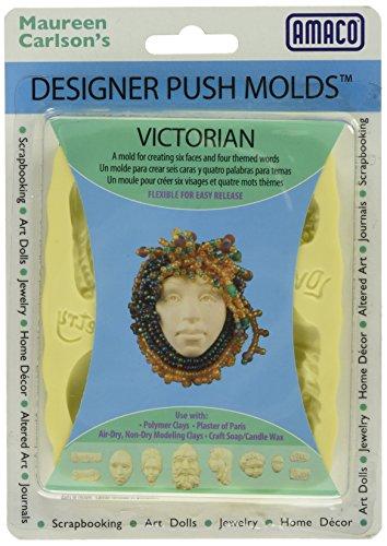 Amaco Push Backform, viktorianisches braun (Casting Plaster Paris Of)