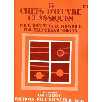 15 chefs-d'oeuvre classiques