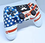 ps4 controller USA flag design (painted)