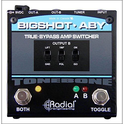 Tonebone Bigshot Aby mezclador de efectos de guitarra, color negro