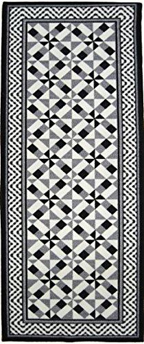 NAZAR UTO400N Utopia 400 Tapis Matériel Synthétique Noir 180 x 67 cm