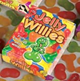 Adult Ladies Willie Shaped Jelly Sweets for Edible Willy Hen Party