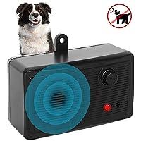 Dispositivo antiladridos Alaine, 2019 para exteriores, impermeable, con 4 modos de ajuste, silenciador ultrasónico, control de ladridos para perros pequeños/medianos/grandes