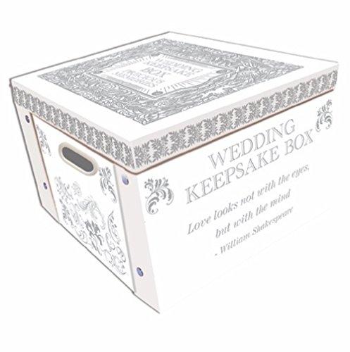 Unbekannt Robert Frederick Hochzeit Andenken faltbar Aufbewahrungsbox, Kunststoff, - Andenken-foto-box