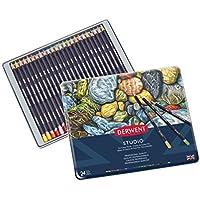 Derwent Studio Blister Fine Blendable Colouring Pencils (Set of 6)