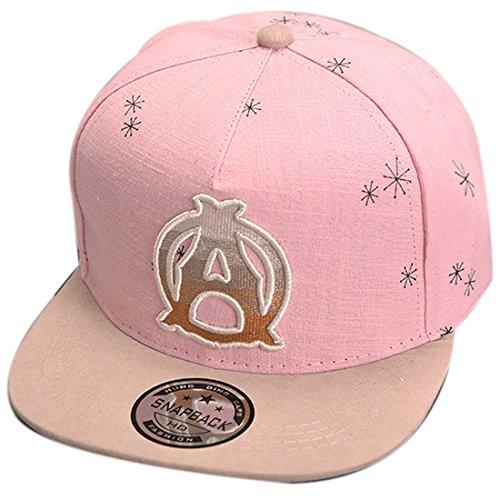 THENICE Kind Hip-Hop Cap Baseball Kappe Hut (A rosa) (Cap Baseball Baby)