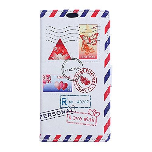 Voguecase® für Apple iPhone 7 4.7 hülle,(Briefumschlag) Kunstleder Tasche PU Schutzhülle Tasche Leder Brieftasche Hülle Case Cover + Gratis Universal Eingabestift Briefumschlag 02