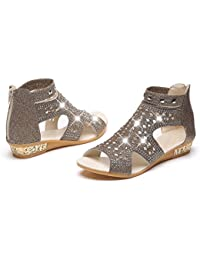 Great Price! 4 Colours Ladies Leather Collection Strappy Sandals F0924