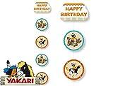 Deckendeko * YAKARI * für Kinderparty und Kindergeburtstag von DH-Konzept // Indianer Indianerjunge Sioux Kleiner Donner Decken Deko Party Set