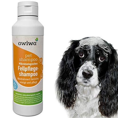 awiwa® Hundeshampoo& Katzenshampoo für langes Fell und Kurzhaar - 100% Bio
