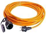 As-Schwabe 880100 Rallonge mono 250 V/16 A polyuréthane 5 m IP 44 Utilisation: Chantier