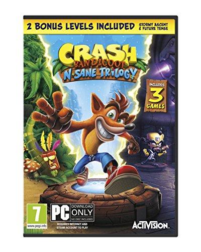 Crash Bandicoot N. Sane Trilogy (PC Code in Box) [Importación inglesa]