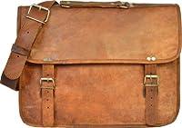 Gusti Leder U24 - Bolso bandolera estilo vintage con bolsillo para portátil, color marrón de Gusti Leder