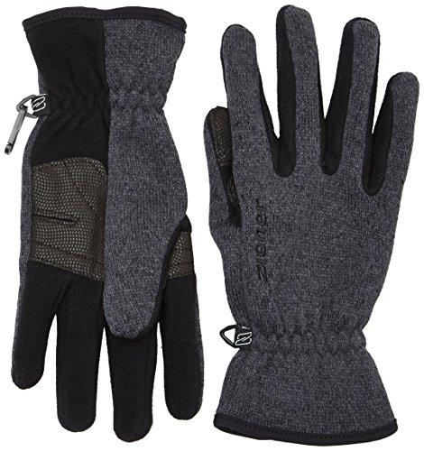 Ziener Herren Handschuhe Imagio Gloves Multisport, Black/Melange, 8.5, 802001