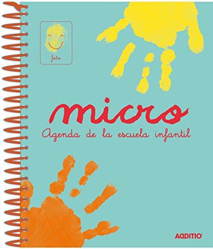 Additio A102 - Agenda Micro para escuela infantil, 0 a 3 años,...