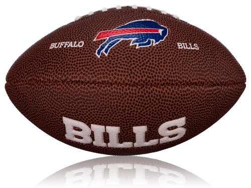 WILSON Football NFL Mini Buffalo Bills Logo, Braun, 2, WL0206542042