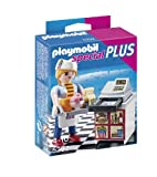 Playmobil Especiales Plus - Camarera con caja registradora (5292)