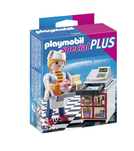 Playmobil Especiales Plus - Camarera Caja registradora