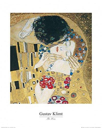 1art1 35525 Gustav Klimt - Der Kuss, 1908 Poster Kunstdruck 50 x 40 cm