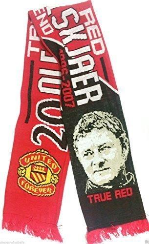 Bufanda Ole Solskjaer United leyenda regalos