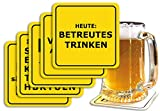 5er-Set: Bierdeckel 5x15 Stk. +++ MIX SET Nr. 1 von modern times +++ Freche BIERDECKEL IM PARTY-MIX +++ 5 Pakete à 15 Stück