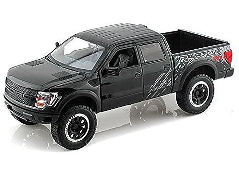 2011 Ford F150 SVT Raptor 1/24 Glossy Black - Jada Toys Diecast