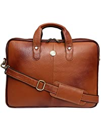 Hammonds Flycatcher Leather 8 Tan Brown Laptop Bag