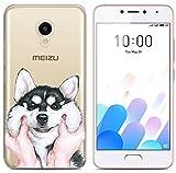 PREVOA Coque pour Meizu M5C - Colorfull Silicone TPU Coque Protection Case pour Meizu...