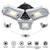 LED Garage Lights, 60W Adjustable Trilights Garage Ceiling Light, High Bay Deformable LED