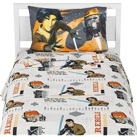 Star Wars Rebel Twin Sheet Set by Jay Franco