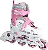 SFR Cyclone White Pink Adjustable Inline Skates