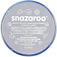 Snazaroo Face and Body Paint, 18 ml - Light Grey (Individual Colour)