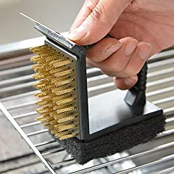 Cleaning Brushes Barbecue Tools Grill Accessories BBQ Triple Cleaning brush