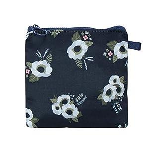 Lalang Sanitary Napkin Bags Canvas Zipper Cute Storage Pocket Handbag Pocket Gift Bag