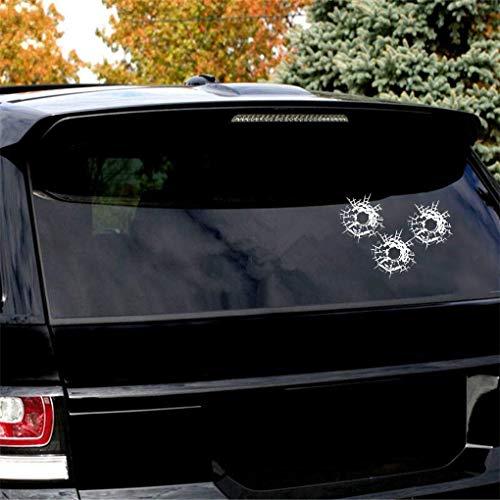 Tattoo Aufkleber Auto Einschusslöcher für Auto Auto Fenster Aufkleber Aufkleber Decals Dekor für Auto Laptop Fenster Aufkleber