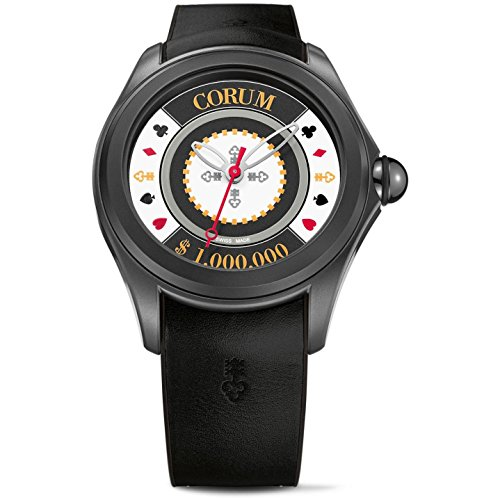 CORUM MEN'S BUBBLE CASINO CHIP LIMITED EDITION OF 87 UNITS AUTOMATIC WATCH