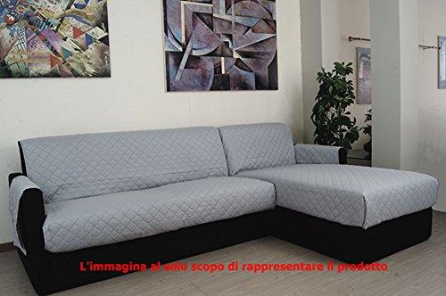 Copridivano 3 posti penisola universale per copri divano - Copridivano per divano in pelle ...
