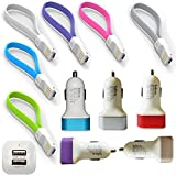 USB Car Charger/Adapter,2.1A Fast Dual U...
