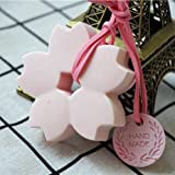 #9: JoyGlobal 6 Cavity Silicone Flowers Chocolate Jelly Soap Dessert Baking Mould (Soap Weight Approx 50 Grams x 6)