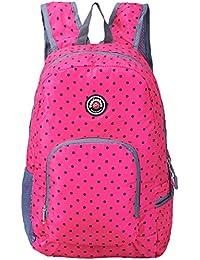Travel Backpack For Schools - 28l/25l Hopsooken Waterproof Laptop Daypack Bag For Men And Women, Ultra Lightweight...